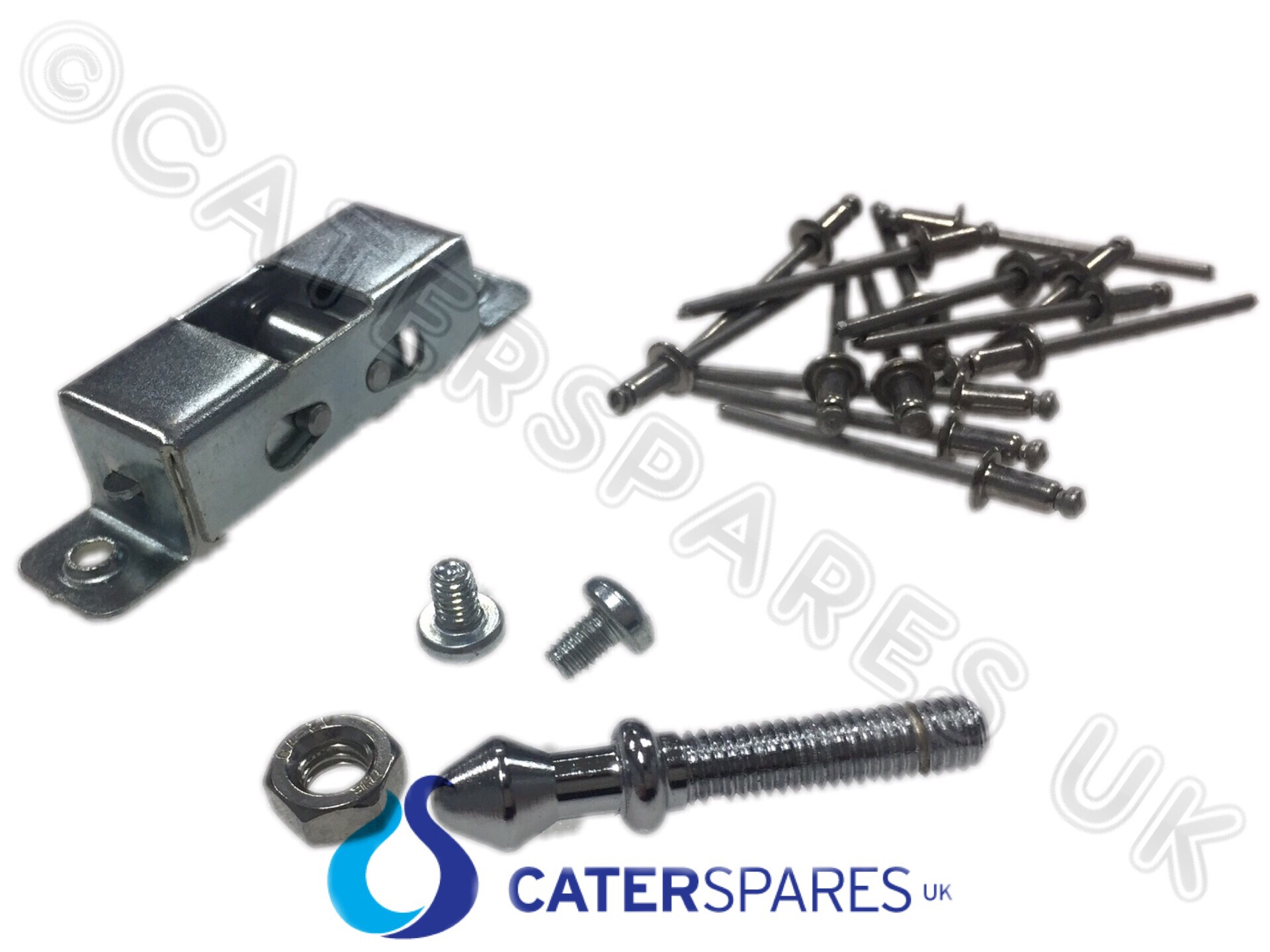Falcon convection oven door catch assy and receiver pin e parts jpg  1920x1440 Commercial oven door