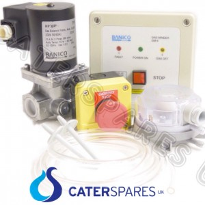 Gas Proving Interlock System For Commercial Catering