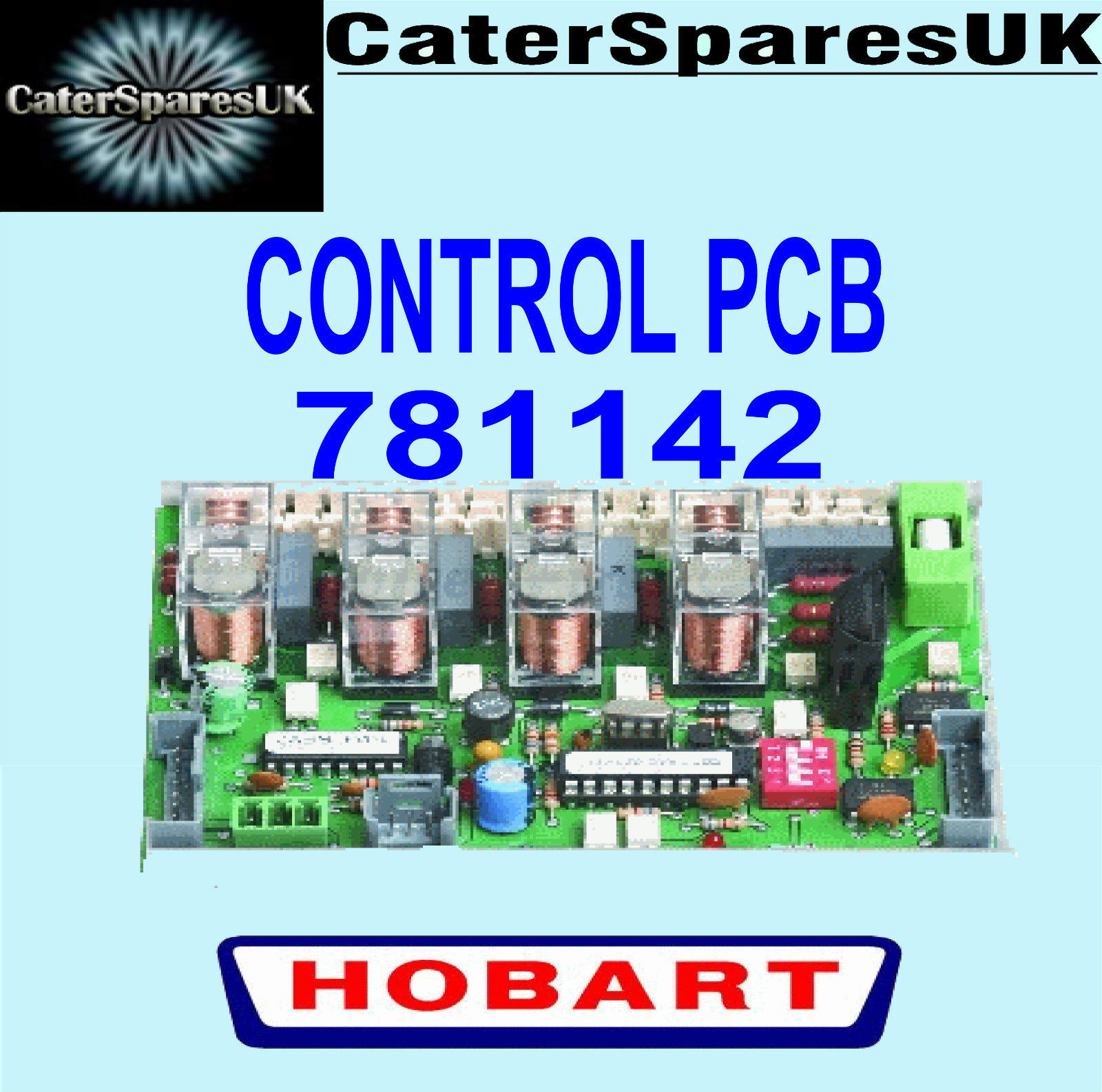 781142 HOBART DISHWASHER CONTROL ELECTRONIC PCB CIRCUIT BOARD SPARE ...
