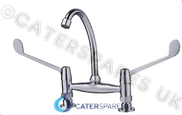 7 Quot Commercial Sink Water Mixer Tap Lever Handle For Hotel