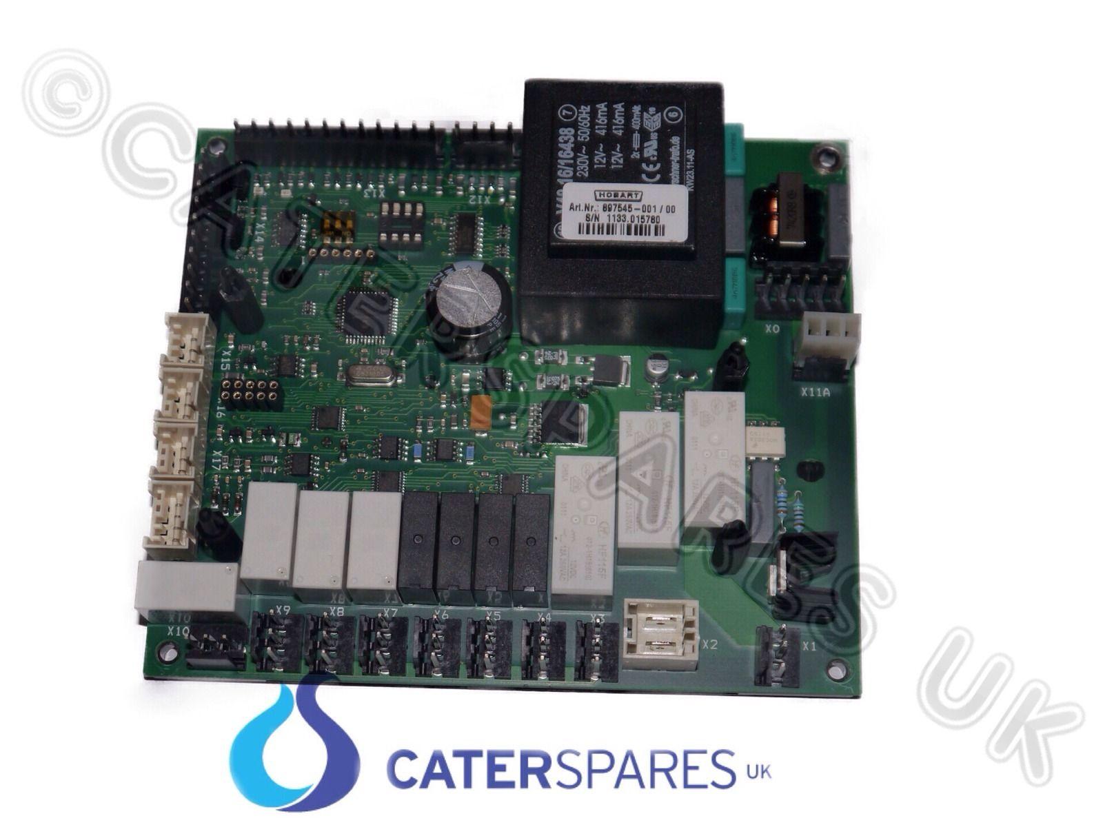 897545-1 HOBART DISHWASHER CONTROL UNIT WITHOUT EPROM ELECTRONIC PCB ...