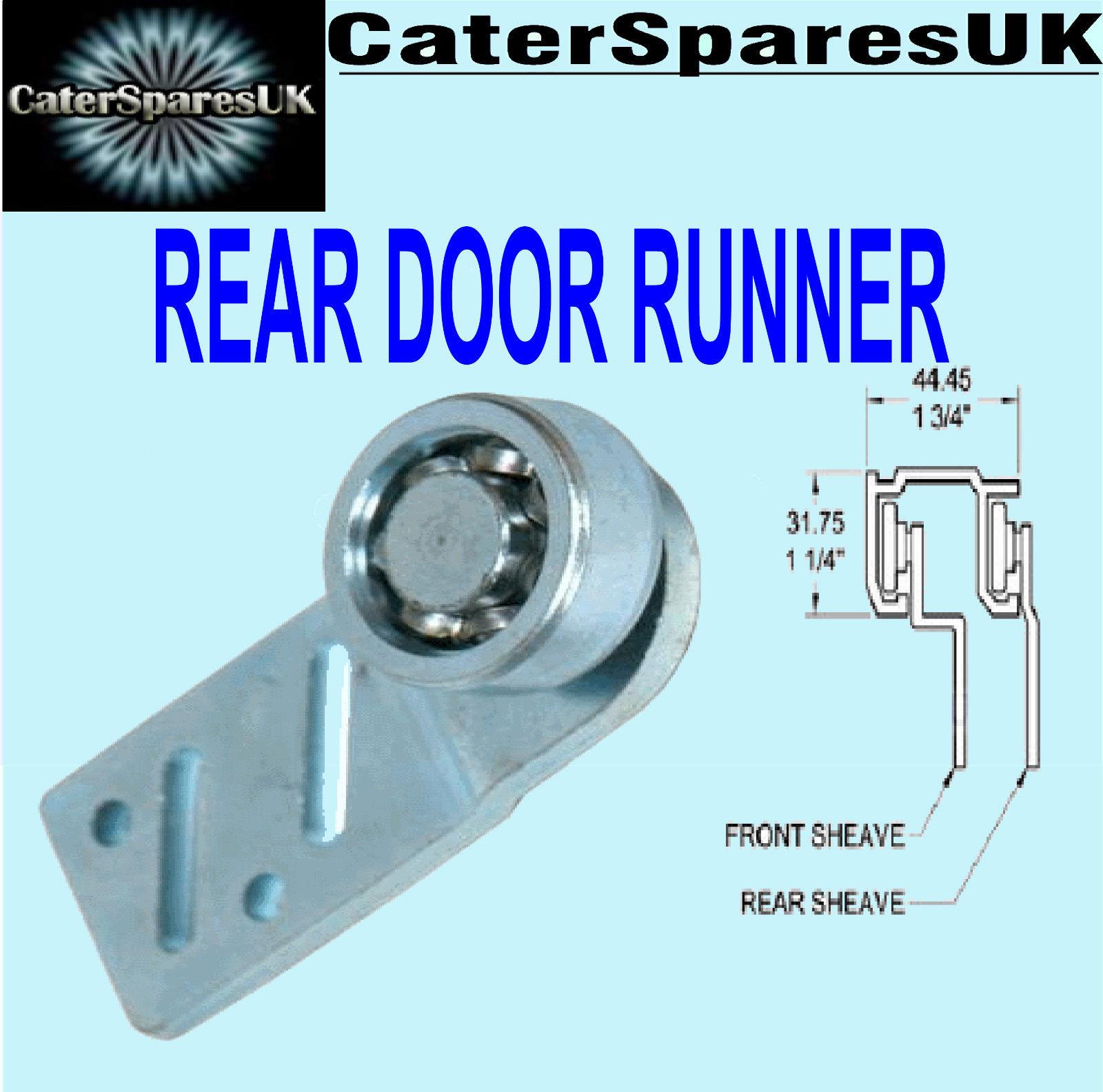 Hot Cupboard Straight Rear Sliding Door Runner Bearing Hanger Cater