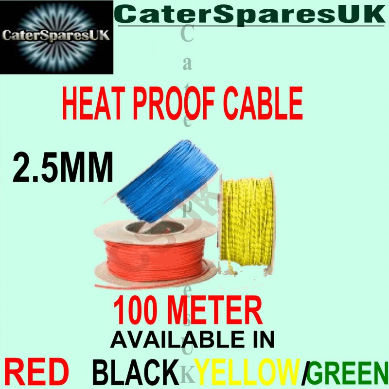 heat resistant 2.5mm fibreglass wire per meter appliance cable high ...