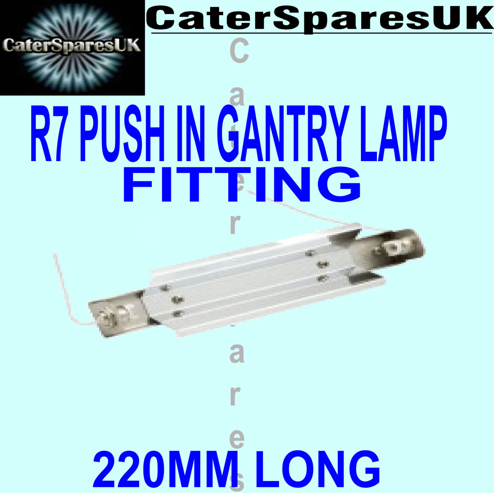 220 mm gantry push in spring loaded heat lamp bulb holder r7 fitting 220 mm gantry push in spring loaded heat lamp bulb holder r7 fitting spare parts aloadofball Gallery