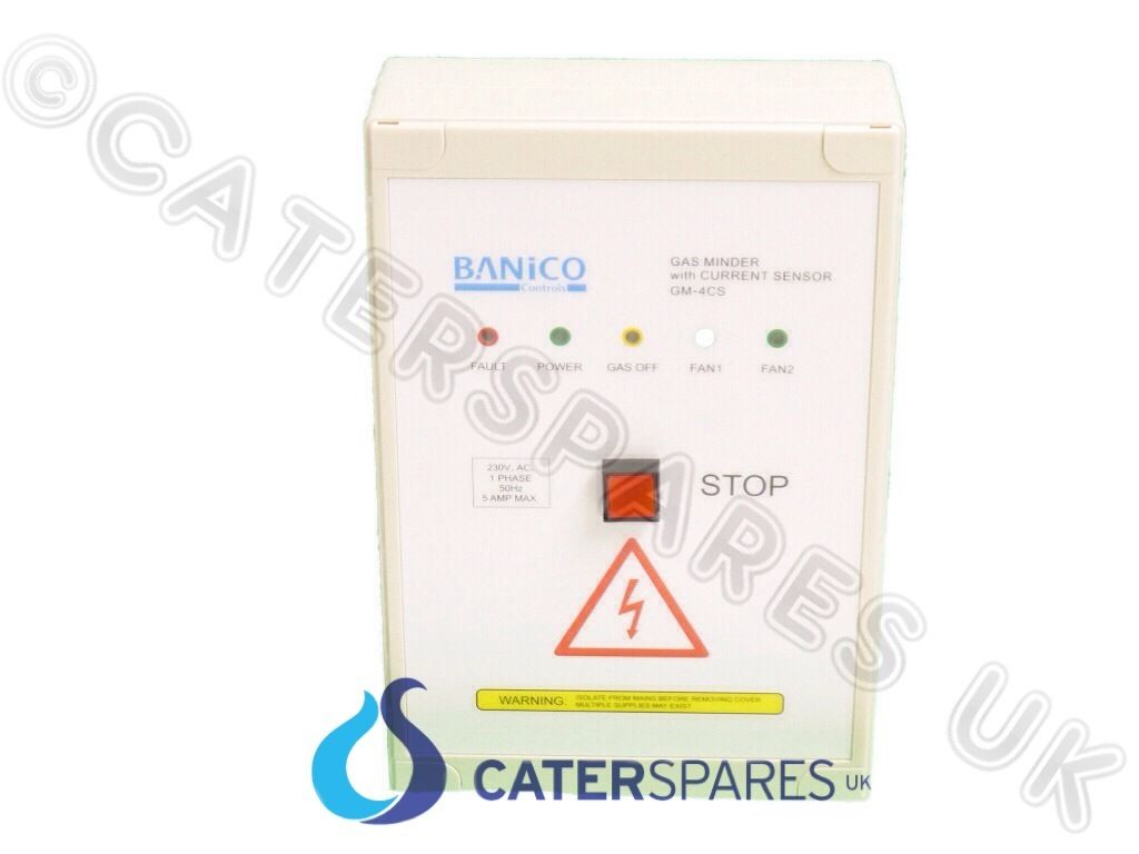 COMMERCIAL GAS INTERLOCK SYSTEM CONTROL PANEL CURRENT MONITORING ...